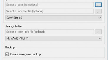 "WWE 2K16 ""Custom Character Tools 2.1.1"""