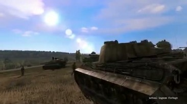 "Iron Front: Liberation 1944 ""Трейлер танков"""