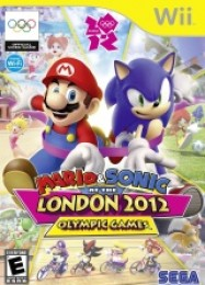 Обложка игры Mario & Sonic at the London 2012 Olympic Games