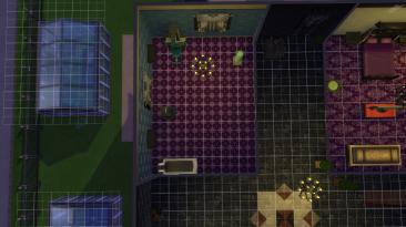 """The Sims 4 """"Дом для вампира и чародейки"""""""