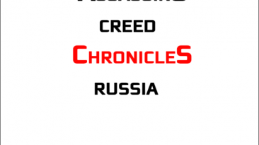 """Assassin's Creed Chronicles: Russia """"Шрифт для фотошопа"""""""