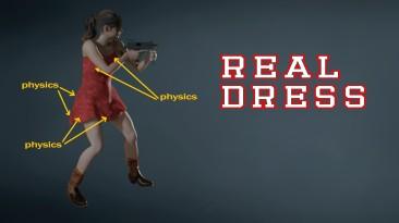 """Resident Evil 2 """"Платье для Клэр с настоящей физикой"""""""