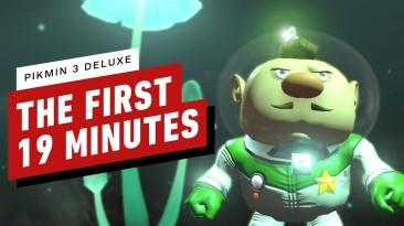 Видео игрового процесса Pikmin 3 Deluxe