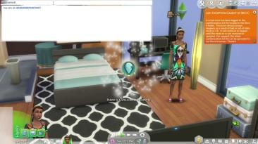 The Sims 4: Чит-Мод/Cheat-Mode (Быстрый ввод кодов для получения всех навыков ведьмы)