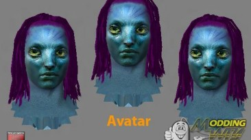 """FIFA 12 """"Avatar face pack by shadow_boy32"""""""