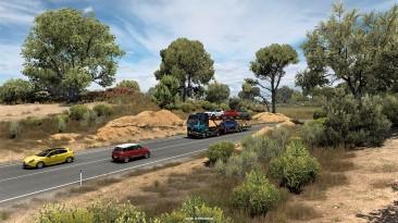 Euro Truck Simulator 2 Иберия: скалы и растительность - SCS Blog
