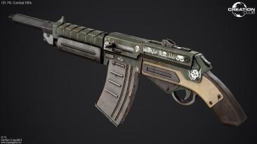 "Fallout 4 ""CR-74L Combat Rifle"""