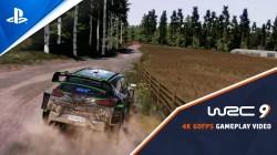 Геймплейный трейлер WRC 9 на PS5 со скоростью 60fps/4K