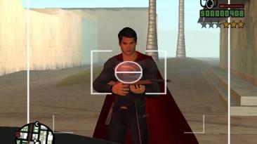 """Grand Theft Auto: San Andreas """"Охота за Сиджеем Суперменами отравленными злым Бэтменом (SA) 1.0"""""""