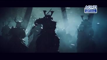 Ghost of Tsushima (2018) - русский дебютный трейлер озвучка VHS