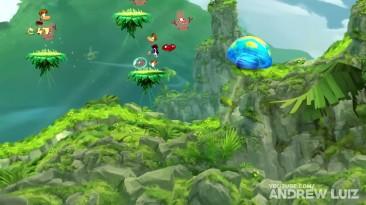 Эволюция игр Rayman (1995-2017)