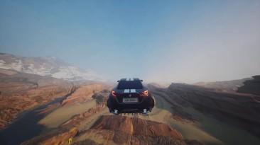 Frontier - Любительская гоночная игра с открытым миром для PS4/PS5, созданная на платформе Dreams