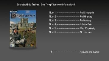 Stronghold: Трейнер (+6) [1.0] {dbhackerZ}