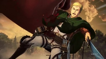 Attack on Titan 2 (A.O.T.2) - Официальный трейлер