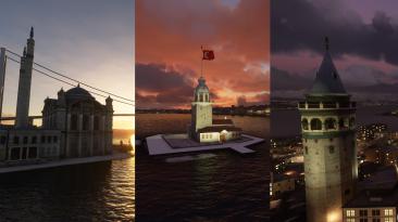 """Microsoft Flight Simulator """"Более 100 новых моделей для Стамбула"""""""