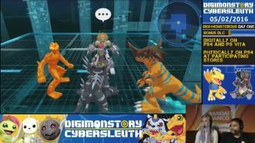 Часовой стрим Digimon Story: Cyber Sleuth