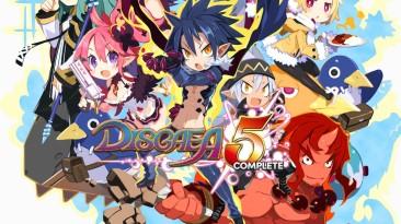 Disgaea 5 Complete наконец-то получила дату выхода на PC