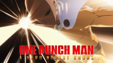 Молниеносный Макс появится в файтинге One Punch Man: A Hero Nobody Knows