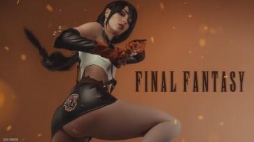 Косплей Тифы из Final Fantasy VII