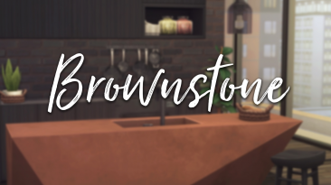 """The Sims 4 """"The Brownstone Collection - часть 1"""""""