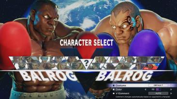 "Street Fighter 5 ""Balrog - Mike Tyson"""