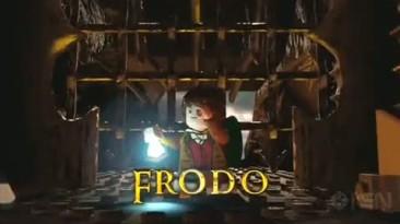 LEGO Lord Of The Rings - Трейлер к выставке Gamescom