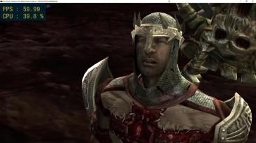Dante's Inferno - отлично идет в 4k и 60фпс на эмуляторе PS3!