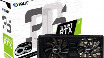 Palit начинает продажи видеокарт GeForce RTX 3060 Dual и StormX