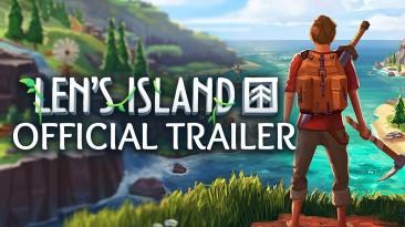 Приключенческий экшен Len's Island выйдет на ПК в Steam 5 ноября