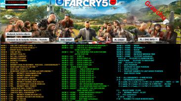 Far Cry 5: Трейнер/Trainer (+78) [1.4.0] {GRZECHU}