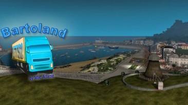 "Euro Truck Simulator 2 ""Bartoland карта1:1 версия 2.0 для 1.38"""