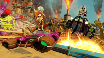 """Завтра в Crash Team Racing Nitro-Fueled стартует сезон в стиле """"Безумного Макса"""""""