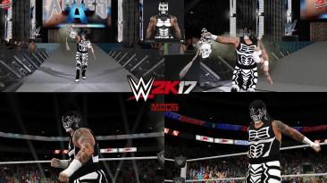 """WWE 2K17 """"Pentagon JR (Лицевая анимация) WWE 2K19 Порт Мод"""""""