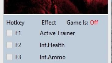 Betrayer: Trainer/Trainer (+3) [1.8.5816] {MrAntiFun}