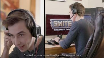 Smite стал доступен в Epic Games Store