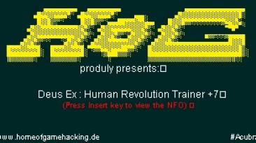 Deus Ex - Human Revolution: Трейнер (+7) [1.2.633.0] {HoG}