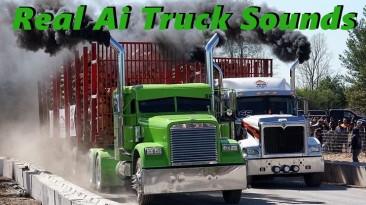 "American Truck Simulator ""Звуки для пака грузового трафика от Jazzycat v2.2.1"""