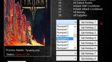 Tyranny: Трейнер/Trainer (+7) [1.2.1.0160] {MrAntiFun}