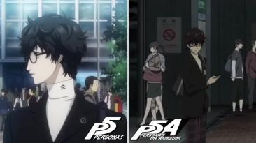 Persona 5 Vs. Persona 5 Animation - Сравнение анимаций