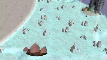 "Command & Conquer Generals: Zero Hour ""Карта - Arctic Sea Battle"""