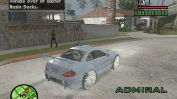 "Grand Theft Auto: San Andreas ""Mercedes-Benz SL 500"""