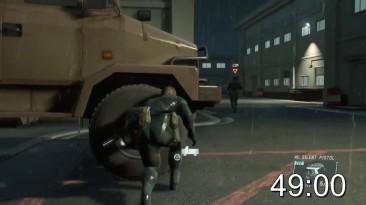 Обзор за Минуту - Metal Gear Solid V: Ground Zeroes   ProJared (RUS VO)