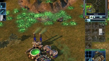 "Command & Conquer 3: Tiberium Wars ""Карта - Mountain Pass"""