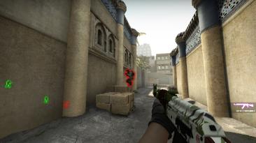 Counter-Strike: Global Offensive: Чит-Мод/Cheat-Mode (Для одиночной игры с ботами) [EZfrags CS:GO Multihack v8.53]