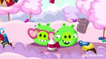 "Angry Birds Friends ""Трейлер дня святого Валентина"""