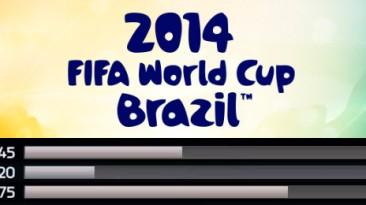 Настройки геймплея 2014 FIFA World Cup