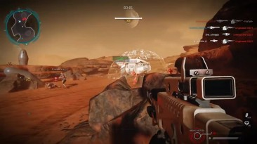 Warface - играем на Марсе