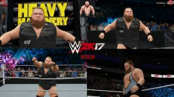 "WWE 2K17 ""Otis '21 Наряд (Лицевая анимация) WWE 2K19 Порт мод"""