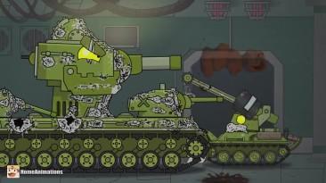 """Секретные эксперименты """"живое железо"""" - Мультики про танки"""