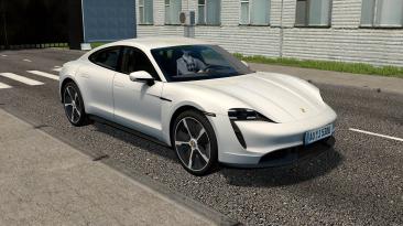 """City Car Driving """"Taycan Turbo S 2021 DLC (v1.5.9.2)"""""""